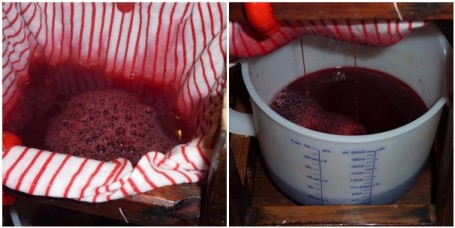 MOSAIC - straining juice