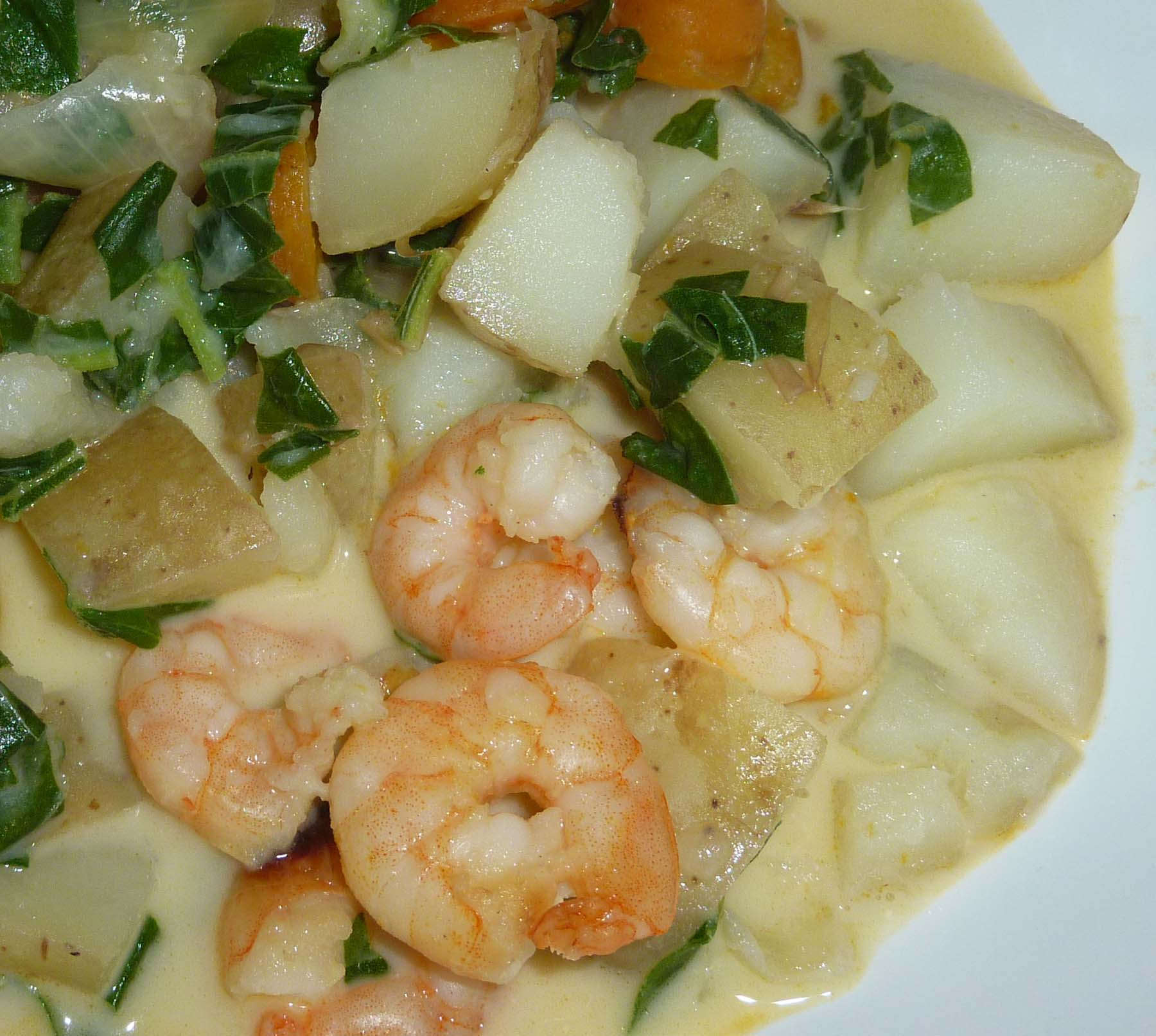 homemade vegetable souphttpwww thedailygreen prawn chowder