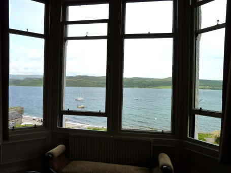 Argyll - Kames_room with a view