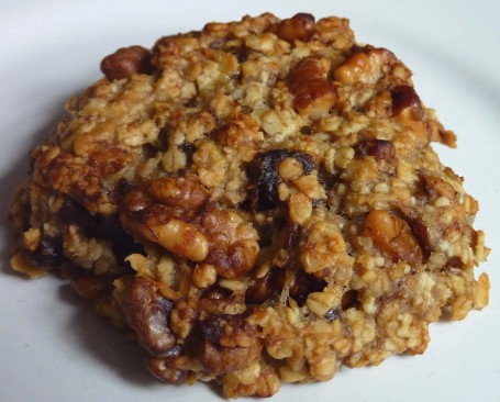 banana and date cookie