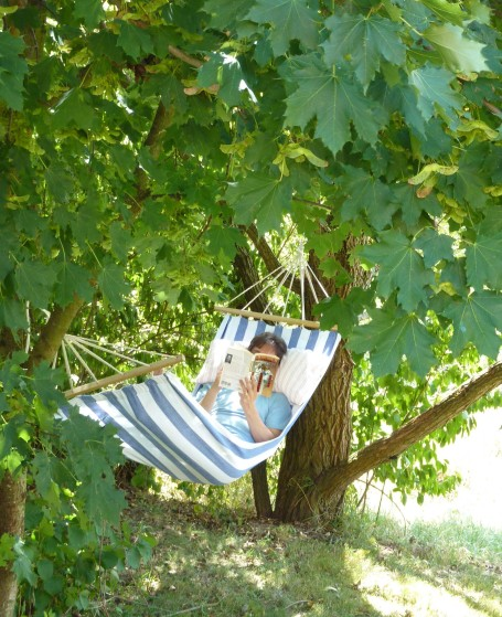 G in hammock in Germany