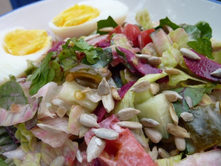 dinner - 5 leaf salad