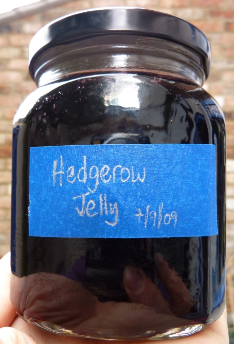 Hedgerow Jelly labelled
