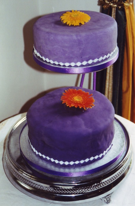 wedding_purple cake