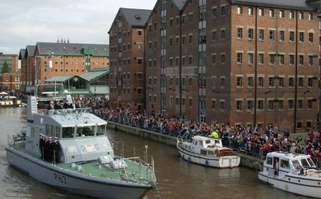 Royal visit to the Docks copy