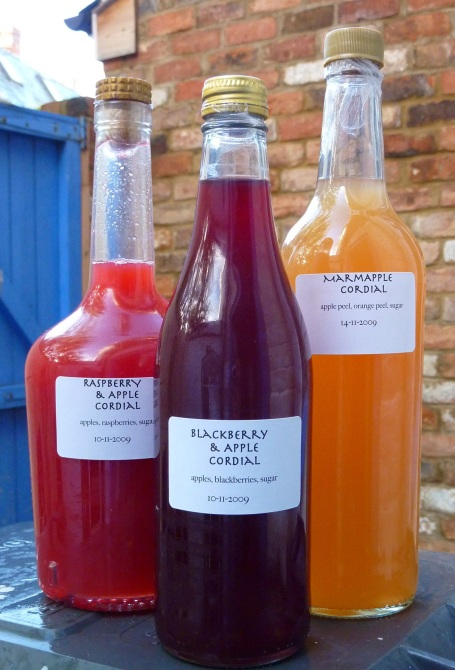 apple cordials_assorted