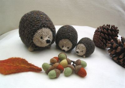Hedgehog Family Knitting Pattern – Hints and Tips |