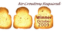 No Croutons Required October Winner