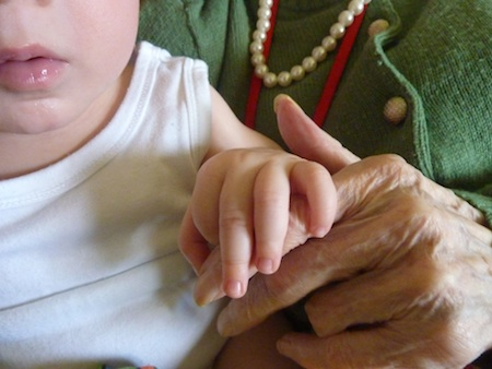 11-5-12 - Euan holding nan's hand* 4B