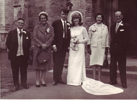 1968 - wedding + parents 4B