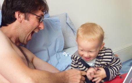Boys having fun on Daddy days 4B