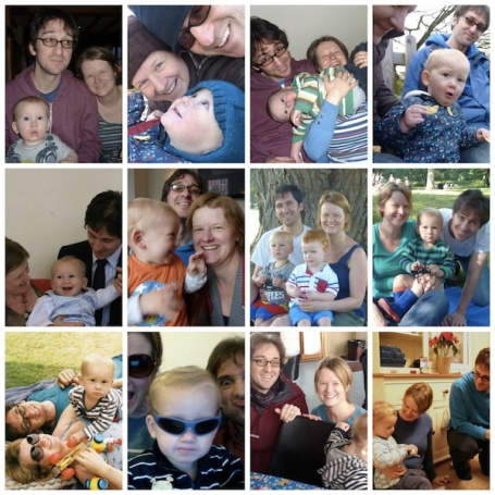 Collage Me and Mine 2013 4B