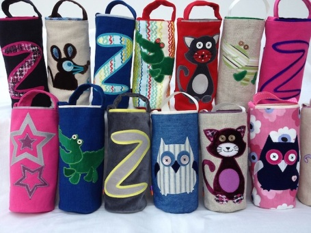 Due Creative Designs - bottle bags 4B