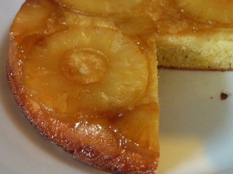 Pineapple upside down cake 4B