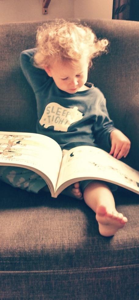 Sept 2014 - e reading Calvin & Hobbes 4B