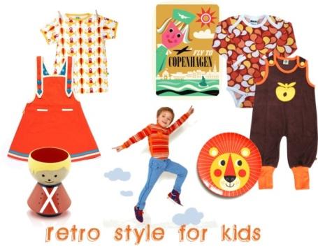 Retro style clothes