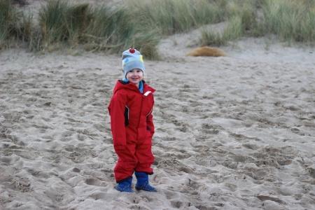 Broad Haven beach_E big smile 4B