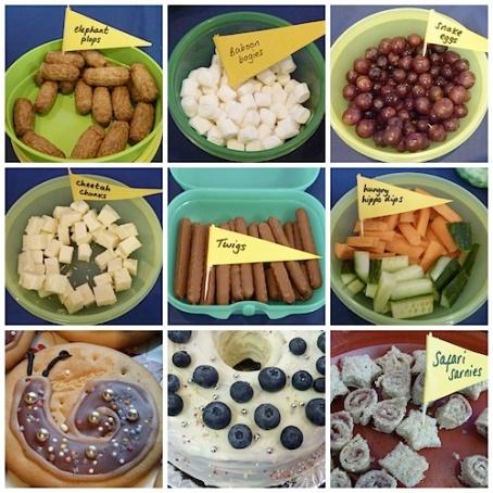 Collage - birthday food 4B