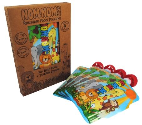 Nom Nom kids 4 pack