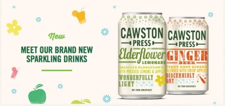 Cawston Press cans