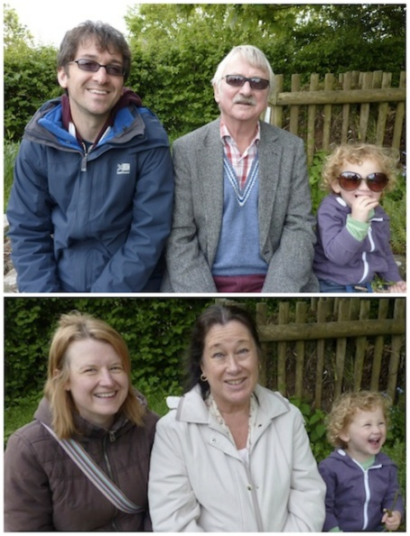 Collage - G folks in Hereford 4B