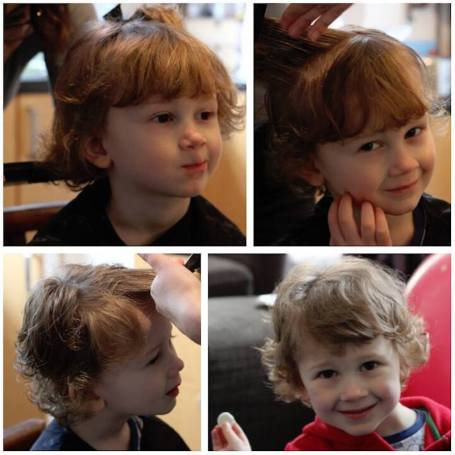 Collage - March haircuts