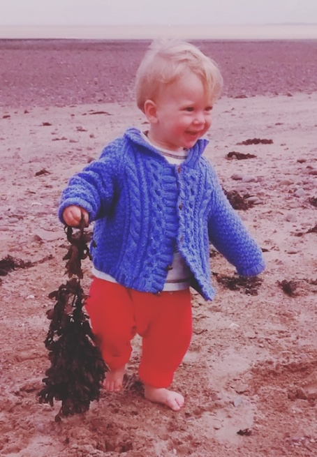 19-8-17 - Dunster beach_L with seaweed copy 4B