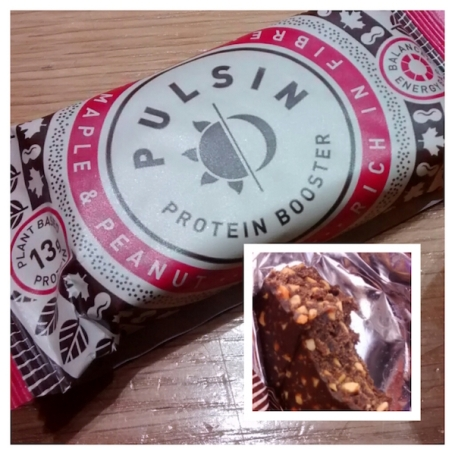 Collage - Pulsin protein booster bar