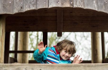 12-4-18- Slimbridge visit playground