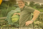 Dave's giant 36lb cabbage - nipitinthebud.co.uk