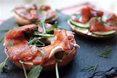Smoked carrot salmon - Allotment2Kitchen