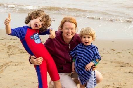 #MeandMineproject July 2018_Mum and boys - nipitinthebud.co.uk